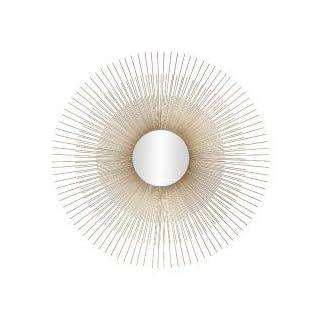 Andrea House–Spiegel Sonne gold Ø76x 1cm (ax17088)