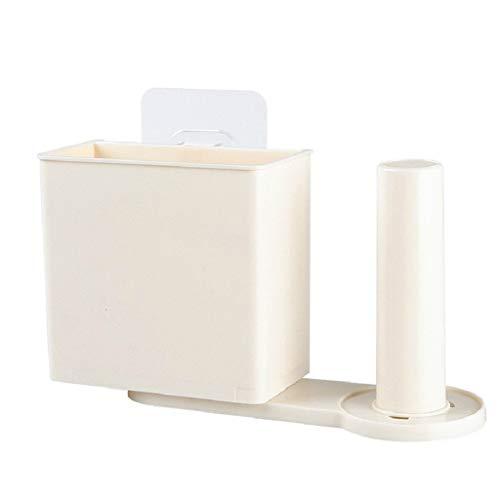 TAOtTAO Saug-Wand-Küche-Speicher-Organisator-Film-Geschirr-Lagergestell-Papierküche Multifunktionales Aufbewahrungsgestell für Küchengeschirr (A)