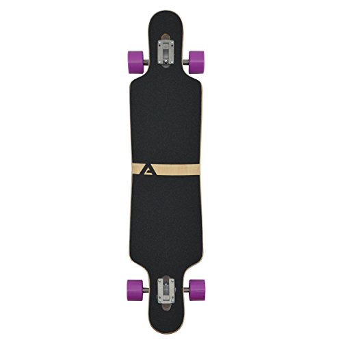 Apollo Longboard Supernova Special Edition Komplettboard mit High Speed ABEC Kugellagern, Drop Through Freeride Skaten Cruiser Boards -