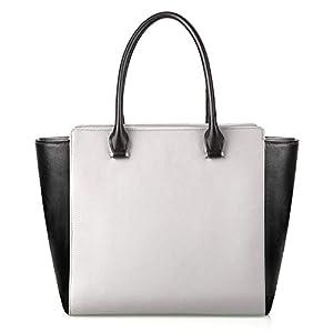Femor Handtaschen Damen Umhängetasche Henkeltasche Schulter Taschen Messenger Tote Taschen aus weichem Beutel und PU Leder