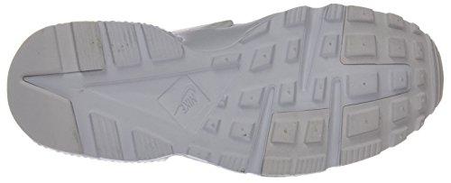 Nike Kinder und Jugendliche Huarache Run Gs Sneakers Weiß (110 WHITE/WHITE-PURE PLATINUM)