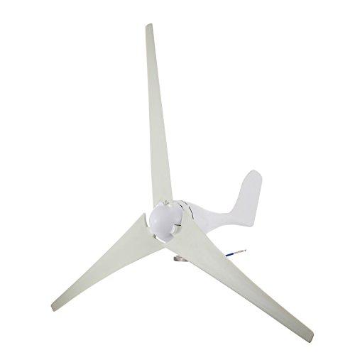 Generator-turbine Wind (Ambesten Wind Turbine DC 12V Windgeneratoren 400Watt 800RPM Wind Turbine Generator mit Controller für Home und Business Power Ergänzung (400W))