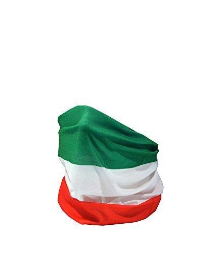 Preisvergleich Produktbild FLAGGE VON ITALIEN / Bandiera d'Italia / il Tricolore - RUFFNEK Multifunktionale Mütze Ausschnitt wärmer - Einheitsgröße
