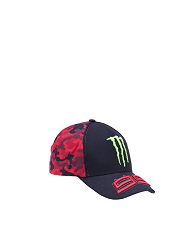 Jorge Lorenzo Monster Energy Verstellbare Cap Monster Energy 2017 99 Schwarz (One Size , Schwarz)