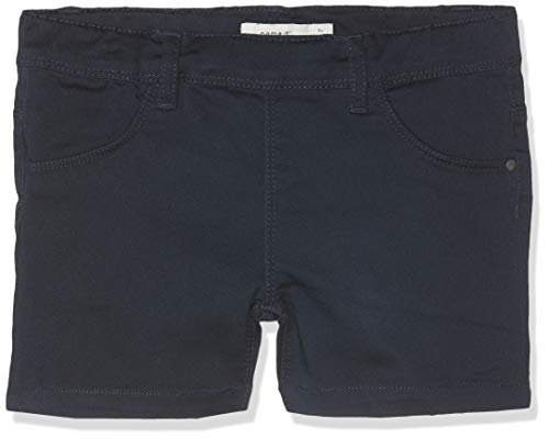 Name IT NOS Mädchen Shorts NKFSALLI TWITINNA AF NOOS, Blau (Dark Sapphire), (Herstellergröße: 134) - Denim-pull-on Shorts