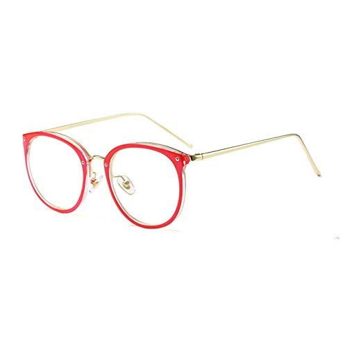 GBST Eyeglass Frame Male Literary Reading Glasses Metal can do Multi-Focus Reading Glasses Big Glasses,A2
