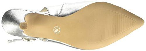 Andrea Conti1009375 - Scarpe con Tacco Donna Argento (Silber (silber 096))