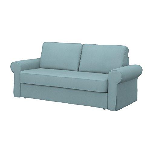 Soferia - IKEA BACKABRO Funda para sofá Cama de 3 plazas, Eco...