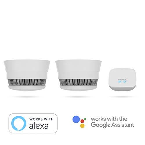 Smartwares Smart Home Pro | Rauchwarnmelder Set inklusive Basistation, steuerbar via gratis...