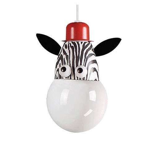 Luminaire Lampe Suspendue Creative Kids Améliorée, Lampe De Plafond Décorative, Suspension Luminaire De Bricolage De Fer De Bande Dessinée, Lustre Plafonnier Pour La Chambre D'enfants De Garçons