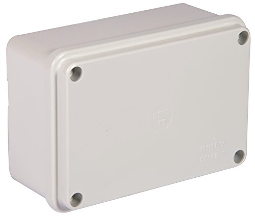 Electraline 60558 Aufputz-Abzweigdose, glatt, 120x80mm