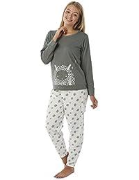 Indigo Sky Ladies Sheep Motif Jersey Pyjamas. Grey Ivory. Sizes 10-12 3e991d5f0