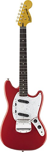 squier-by-fender-mustang-fiesta-red-vintage-modified-electric-guitars-retro-new-vintage