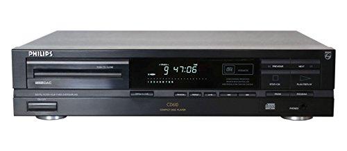 Philips CD 610 CD Player in schwarz (Philips Cd-recorder)