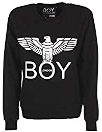 Boy London Felpa Maglia Donna Girl Ragazza Logo Moda Stampa Sweater BLD1505 dc6b8e52c63