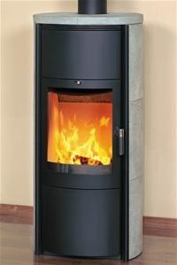HARK Kaminofen Keno ECOplus, Naturstein, 7 kW, Dauerbrand, mit Feinstaubfilter