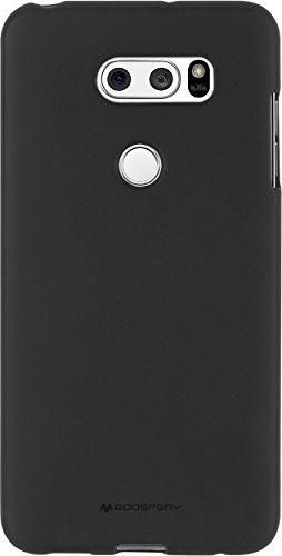 LG SF Jelly V30 Mobile Phone Cover (Black)