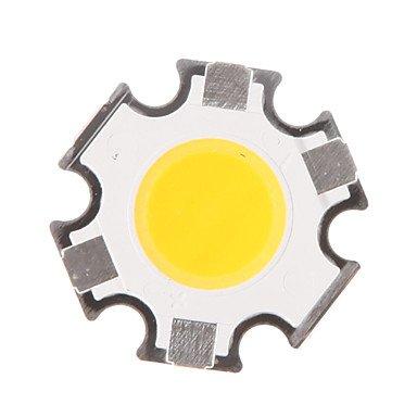 5W COB 450-500LM 3000K Warm White Light LED-Chip (15-17V, 300uA) - 5 Warm White Led-chips