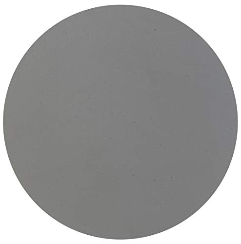 Caesarstone Runder Steinplatte Sleek Concrete 4003 rund 80cm x 2cm Stärke/Bistrotische /...