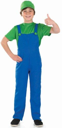 (Grüne Plumbers Kumpel - Kinder Kostüm)