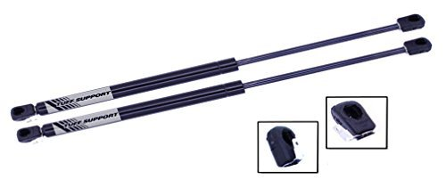 2 Pieces (SET) Tuff Support Hatch Lift Supports 1984 To 1996 Chevrolet Corvette Complete with Defroster Connectors by Tuff Support
