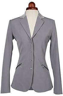 Ladies Grey 34 Inch Chest Shires Aubrion Oaklawn Show Jacket
