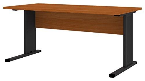 Wellemöbel, Büro Combi+, C-Fuß-Schreibtisch, 160 x 80 cm, Kirschbaum
