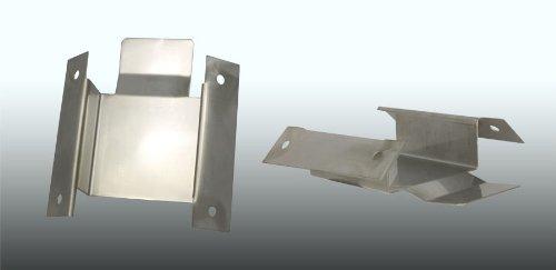 Eckmontage Eck Winkel Befestigung Einbau-Winkel für Sanlingo Duschpaneele Säulen