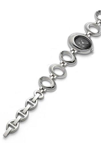 Miss Sixty Lollipop, in argento, con quadrante Z5003 Let, colore: nero