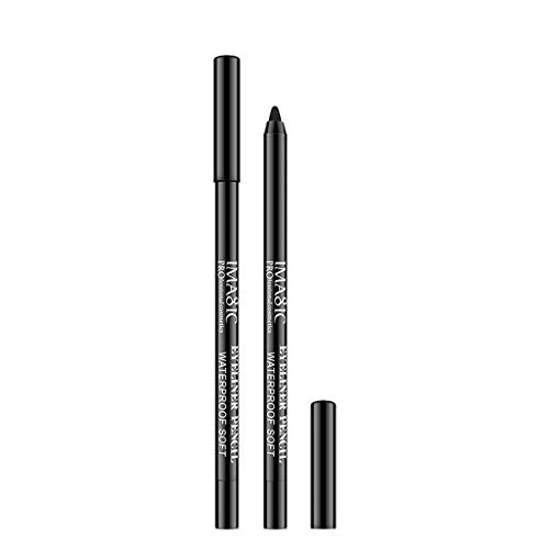 SMILEQ IMAGIC Makeup Neuer Eyeliner-Bleistift Dry Fast Eyeliner Water Brush Sweat Proof (A)