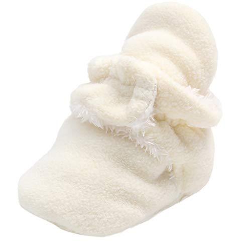 Snakell Baby Jungen Mädchen Lauflernschuhe Unisex Baby Kleine Schafe rutschfest Schuhe Klettverschluss Winter Warm Babyschuhe Baby Stiefel Schuhe weiche Sohle Prewalker Lauflernschuhe Krippeschuhe