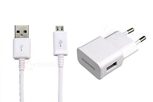 Samsung Adapter Netzteil ETA- U90 EWE mit Ladekabel Micro-USB 2.0 für Galaxy S3 S4 S6/Edge A5 A3 - weiss (Samsung Micro Usb Galaxy S3)
