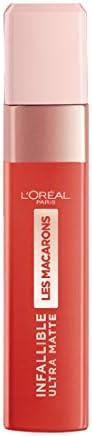 L'Oréal Paris Infallible Ultra Matte Liquid Lipstick,Les Macarons, 834 Infinite Spice