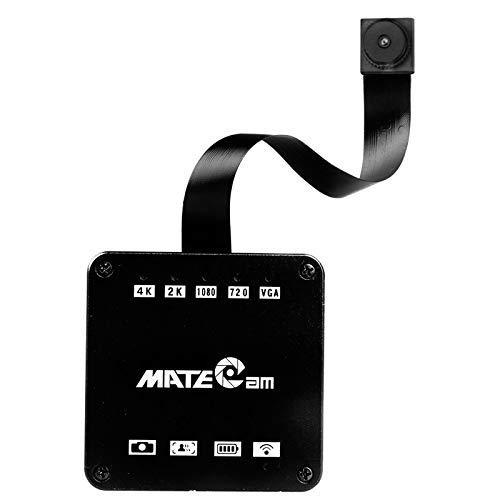 MATECam 4 K Mini Telecamera Hidden Spia Micro DVR nascosta Pinhole Cam WiFi Full HD 1080p Mini Security Camera rilevatore di movimento Loop Registrazione supporto 128GB SD Card