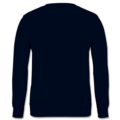 Landwirt - Bauernweisheit Ferkel - Herren Premium Pullover Dunkelblau