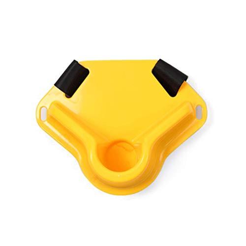 Dhrfyktu Cinturón de Pesca y Cojín de Pesca para Equipos Especiales, Pesca de Roca (Color : Yellow)
