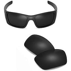 fa4f17a9cd sunglasses restorer Lentes Polarizadas de Recambio Black Iridium para  Oakley Fuel Cell