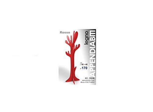 Attaccapanni Cactus Prezzo.Generico Appendiabiti Da Terra Attaccapanni Albero Modello Cactus In Legno Rosso