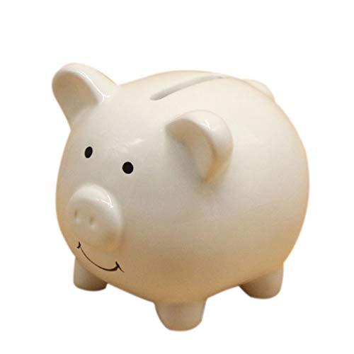 fish Keramik-Andenken-Karikatur-Tier-Münzen-Bank Cent Penny Spartopf Weihnachten Geburtstag Geschenk Money Bank -
