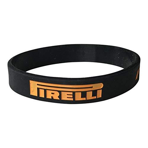Pirelli p zero pneumatici di formula 1 braccialetto rigido arancione