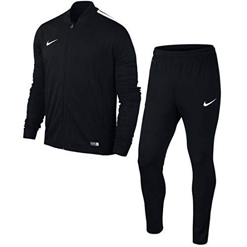 Nike -  tuta da ginnastica - manica lunga - uomo black, white xl