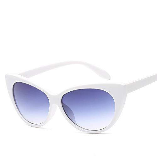 Pers?nlichkeitstrend Mode Sonnenbrille Katze Auge Sonnenbrille Frau rund Gesicht Sonnenbrille