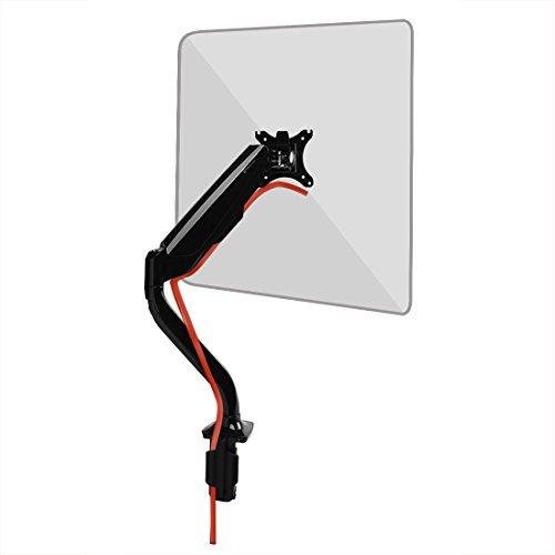 """Fleximounts F8L für 24""""-36"""" LCD LED TV Bildschirme Flachbildschirm Monitorhalterung Monitorhalter Tischhalterung Standfuß, Belastbarkeit:4-11 kg, neigbar, schwenkbar 360 Grad drehbar, höhenverstellbar"""
