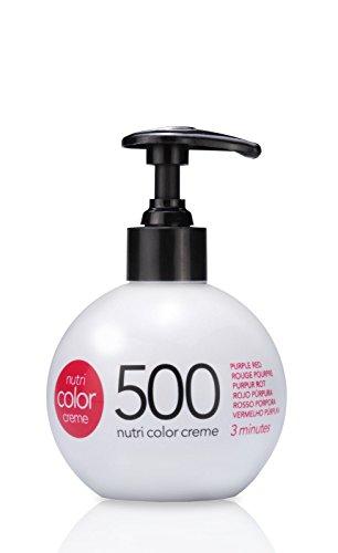 REVLON NUTRI COLOR CREME Nr.500 Purpur Rot 250 ml - Rotes Haar Creme