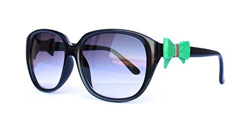50er 60er 80er 90er Jahre Vintage Sonnenbrille Sommerbrille Clubmaster Style Rockabilly Trend 2017 2018 Mode Fashion Fashionbrille Designer Brille Schwarz grün Schleife