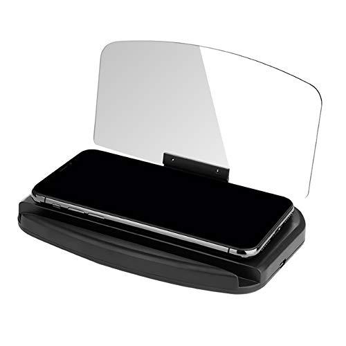 Tiao Auto HUD HD Projektion Head Up Display Autotelefonhalter Universal GPS Navigationshalterung Autozubehör