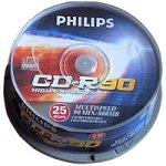 Philips CD-R Rohlinge 90Min 800MB Multi 25er Spindel