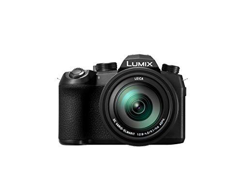 Panasonic LUMIX DC-FZ1000 II Premium-Bridgekamera (1 Zoll Sensor, 20 MP, 16x Zoom Leica Objektiv, 4K) schwarz