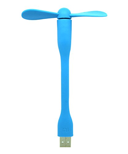 Original XIAOMI tragbare Mini USB Fan biegbarer Arm Fan 5 V USB Power - Blau