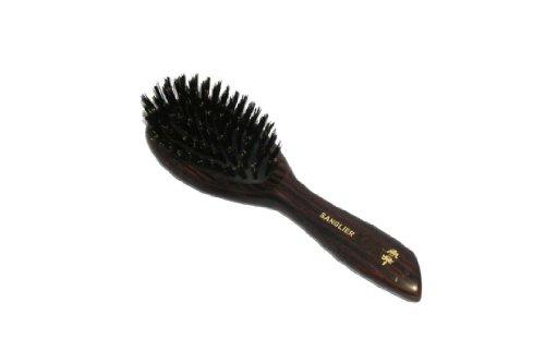brosse à cheveux pneumatique - 7 rangs de poils de sanglier